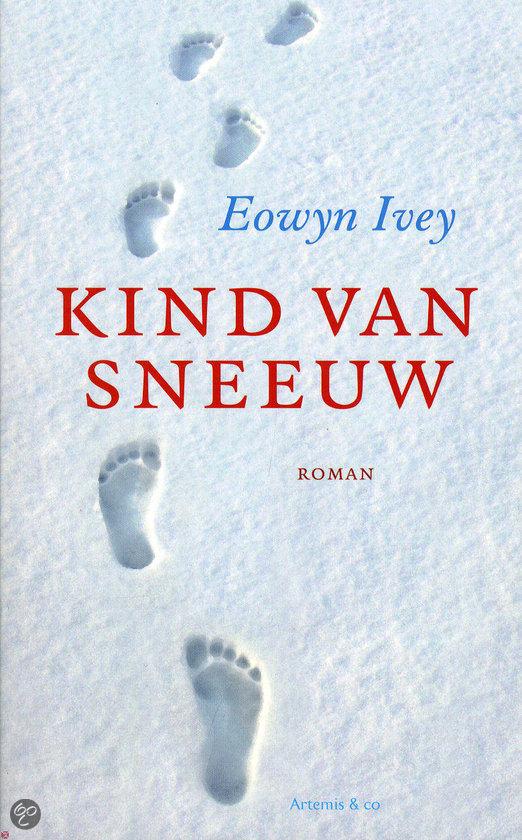 Kind van sneeuw