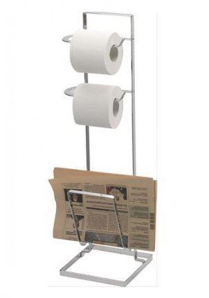 Balvi klein huishoudelijke accessoires toiletrolhouder lectuurbak - Porte revue toilette ...