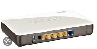 Sitecom WLR-4000 X4 - Wireless Gigabit Router / 300N