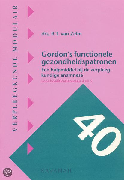 Gordon's functionele gezondheidspatronen / druk 1