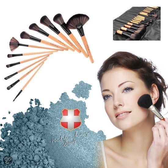 Foto van Bilderberg 24 delig - Make-up Kwastenset