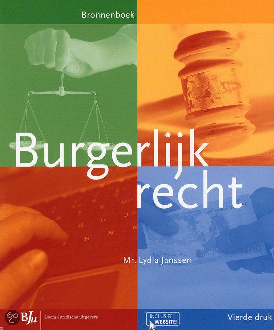 Burgerlijk recht / deel Bronnenboek