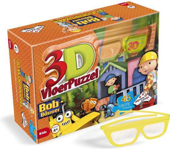 Puzzel 3d Bob De Bouwer