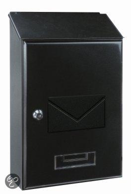 Rottner Tresor Brievenbus PISA (Antraciet) Stalen (mini) brievenbus