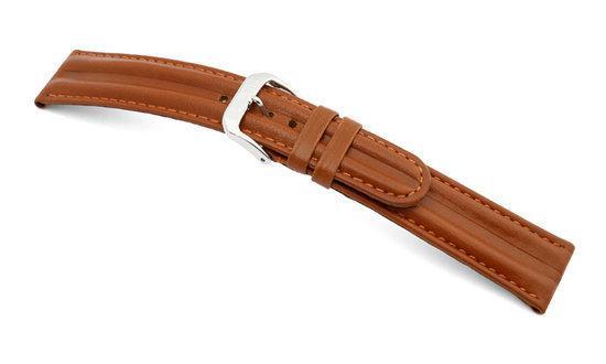 Rios1931 Horlogeband -  California Sport Cognac - Leer - 20 mm