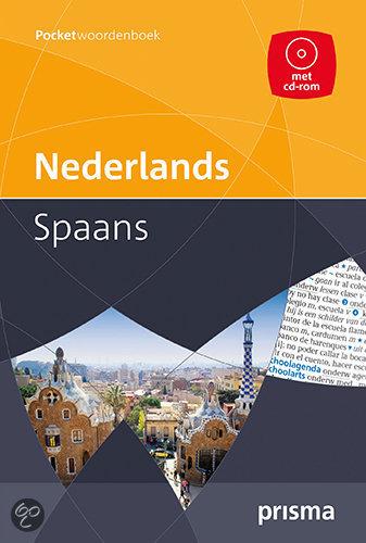 Prisma pocketwoordenboek Nederlands-Spaans + CD-ROM