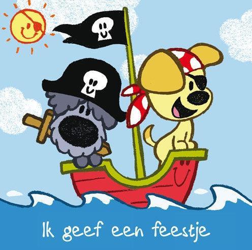 Bol Com Woezel En Pip Uitnodigingen Piraat Dromenjager