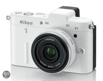 Nikon 1 V1 + 1 NIKKOR VR 10-30mm  - Systeemcamera - Wit