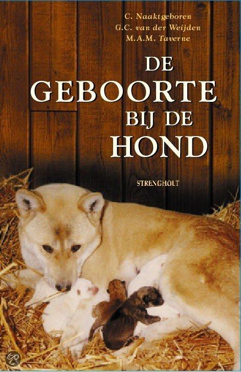 De geboorte bij de hond en zijn wilde verwanten