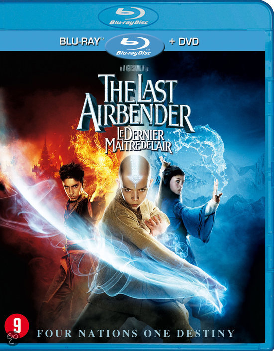 The Last Airbender (Blu-ray+Dvd Combopack)