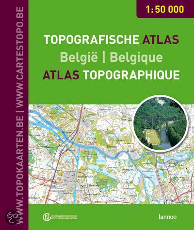 Topografische atlas Belgie 1:50000