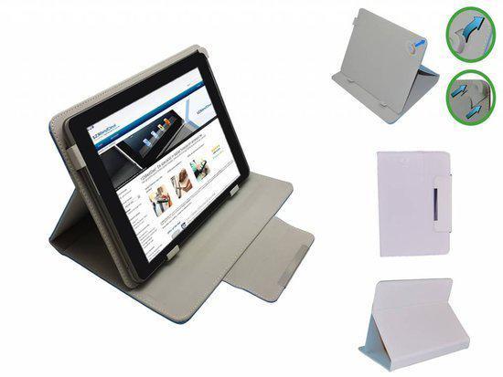 Trekstor Ebook Reader Pyrus 2 Led Diamond Class Cover, Elegante stevige Hoes, Wit, merk i12Cover in Balâtre