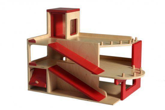 Houten Garage Speelgoed : Bol van dijk toys houten garage met verdiepingen van