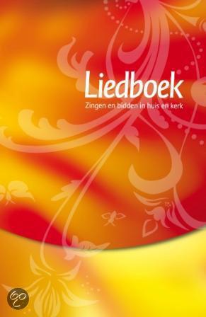 Liedboek - rood/geel