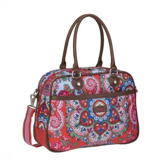 Schoudertas Oilily Rood : Bol oilily travel office bag rood