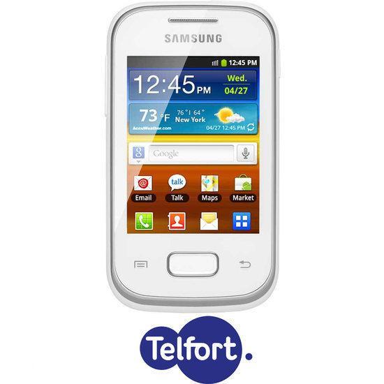 Samsung Galaxy Pocket (S5300) - Wit - Telfort prepaid telefoon