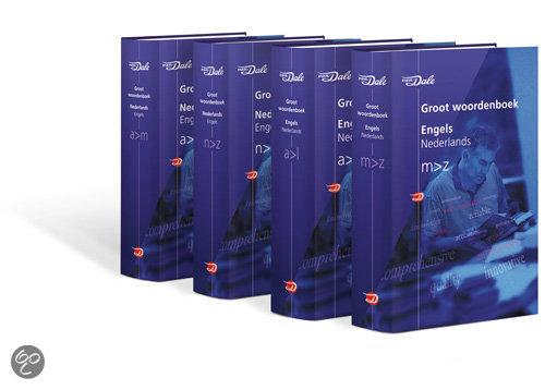 Van Dale Groot woordenboek Engels (set)