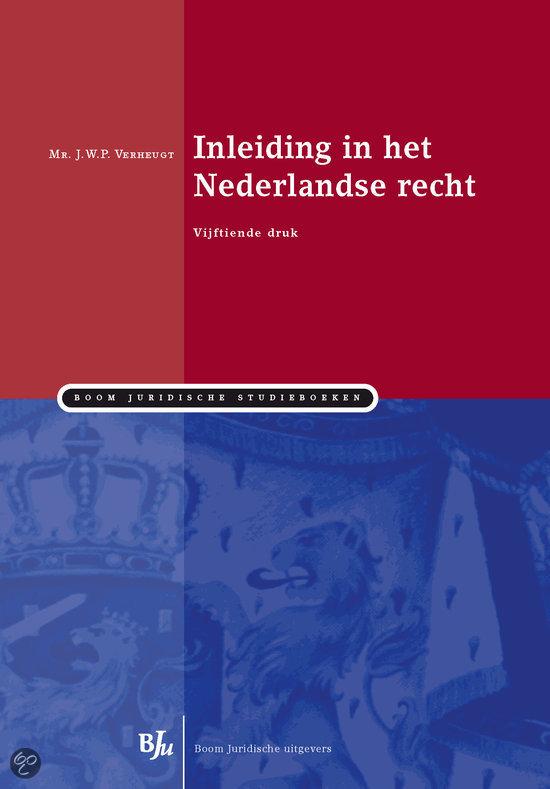 Inleiding in het Nederlandse recht
