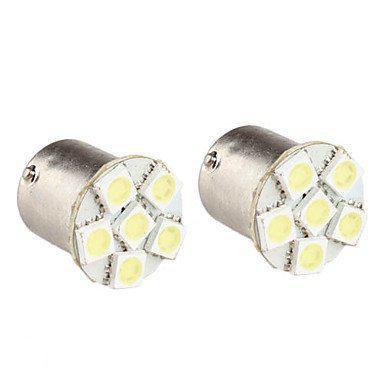 bol.com | T11 BA9S Witte Auto Lamp 5050 SMD 5 LED 12V