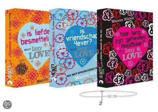 IzzyLove zomerpakket / Is liefde besmettelijk Hoe lang zijn geheimen houdbaar Is vriendschap 4ever?