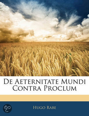 de Aeternitate Mundi Contra Proclum