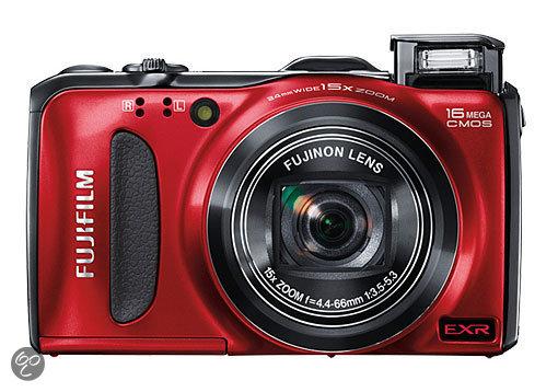 Fujifilm Finepix F600 EXR - Rood