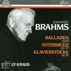 Balladen Opus 10-Intermezzi