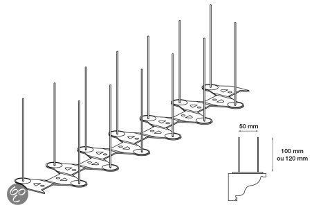Duivenpinnen E2 (1meter)