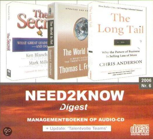 2006 6 Need2Know luisterboek