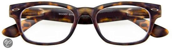 INY Woody G11800 +3.5 - Havanna/bruin - Leesbril