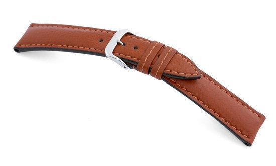 Rios1931 Horlogeband -  Colorado Cognac - Leer - 20 mm