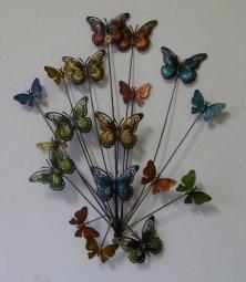 bolcom dekogifts wanddecoratie vlinders