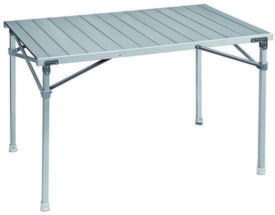 Bo Camp Aluminium Roltafel.Brunner Campingtafel
