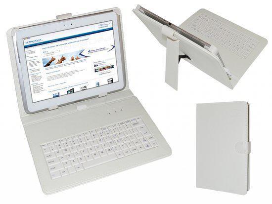 Keyboard Case voor de Cnm Touchpad 10dc 16, QWERTY Toetsenbordhoes, merk i12Cover in Rutten