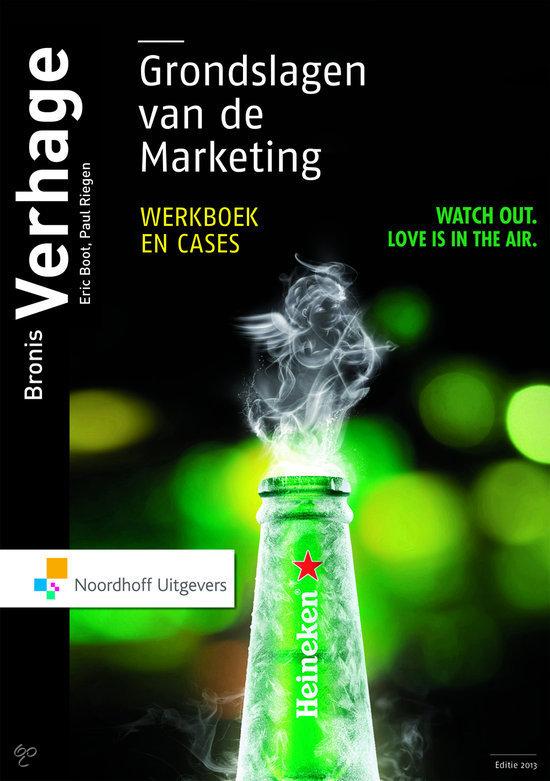 Grondslagen van de marketing, werkboek en cases