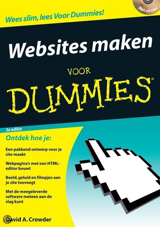 Websites maken voor Dummies + CD-ROM
