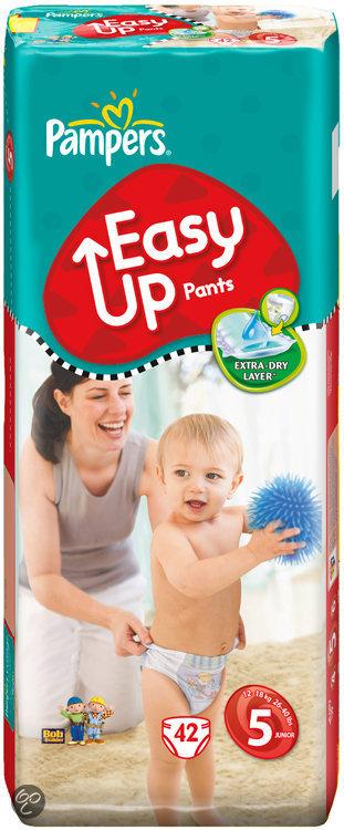 Pampers Easy Ups - Luierbroekjes Junior - Voordeelpak 42st