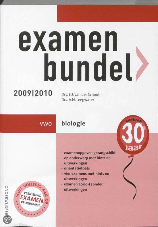 Examenbundel Biologie Vwo 2009/2010