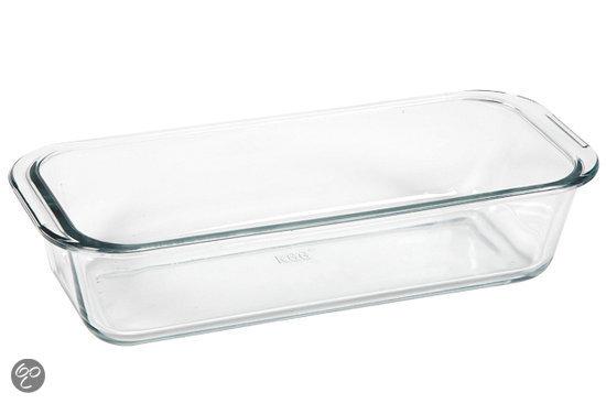 Glazen cakevorm