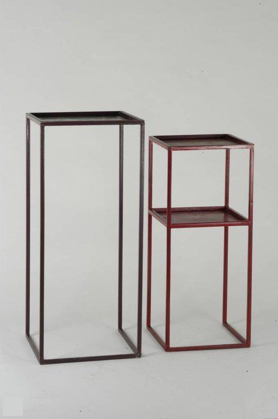 haans lifestyle bijzettafel metaal. Black Bedroom Furniture Sets. Home Design Ideas