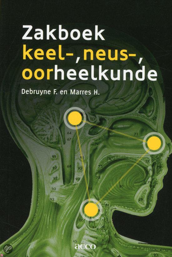 Zakboek keel-, neus-, oorheelkunde