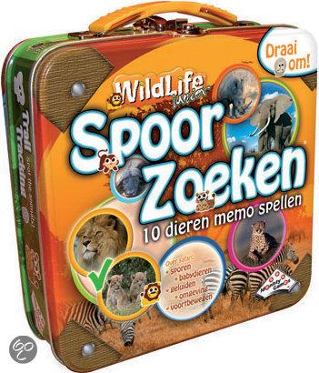 Afbeelding van het spel Spoorzoeken - Wildlife Junior