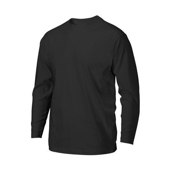 Katoenen t shirts lange mouw
