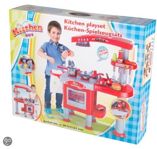 Engelse Keuken Maten : bol.com Speelgoed keuken met accessoires