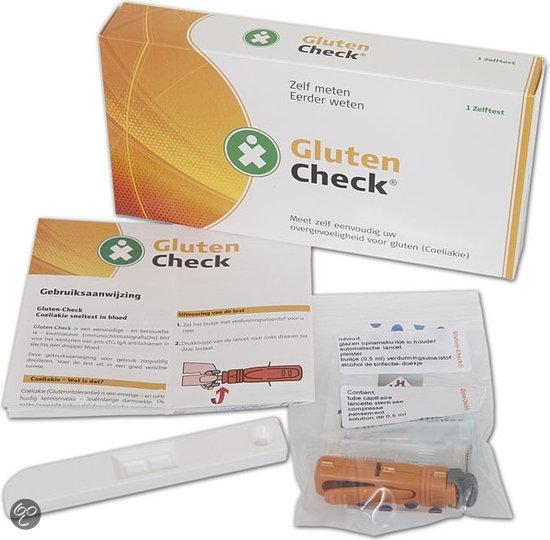 Testjezelf.nu - Allergie Check Gluten - 1 stuk - Allergietest