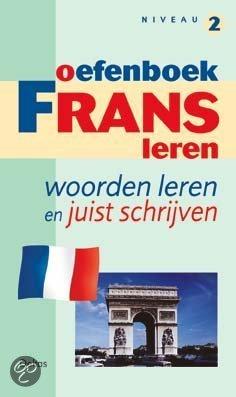 Oefenboek Frans leren - woorden leren (niveau 2)