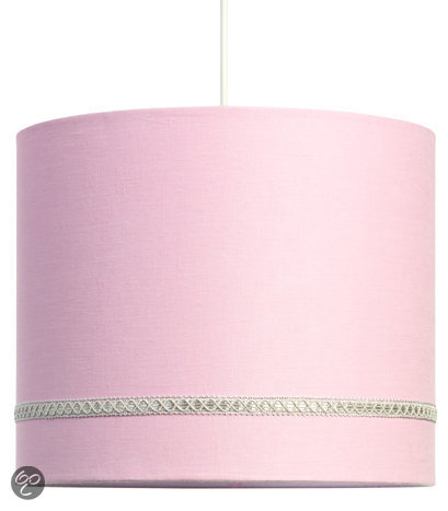 bol | coming kids linnen - hanglamp - roze, Deco ideeën