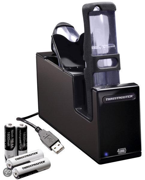 Thrustmaster Oplader Nintendo Wii  (Zwart) + 4 Accu's kopen