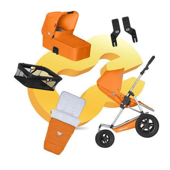 Koelstra Mambo Daily PACK - Kinderwagen Compleet - Oranje
