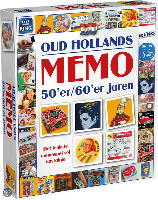 Afbeelding van het spel Oud Hollands Memo Van De Jaren 50 en 60